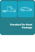 Standard on Road Package (Truck Blue Book and Auto Red Book)
